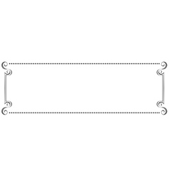 Horizontal frame vector