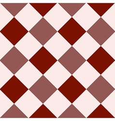 Crimson red fiesta white diamond chessboard vector