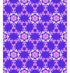 abstract geometric blue violet pink seamless vector image vector image