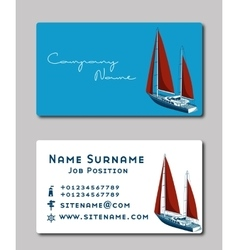sailing boat logo royalty free vector image vectorstock
