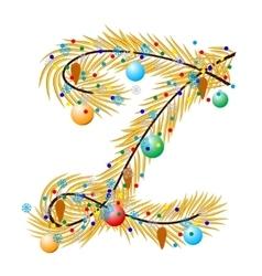 Z - letter vector