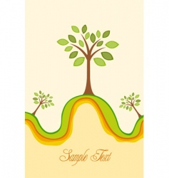 recycle card vector image