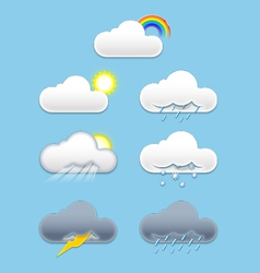 Cloud weather vector