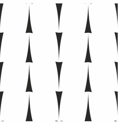 Tile pattern with black arrows on white background vector