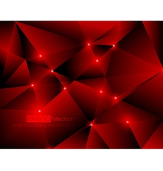 Red abstract technology background vector image