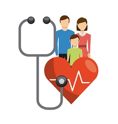 Family health care design vector