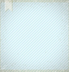 Vintage background with blue diagonal stripes vector