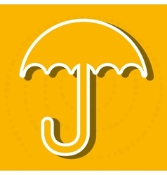 Umbrella icon design vector