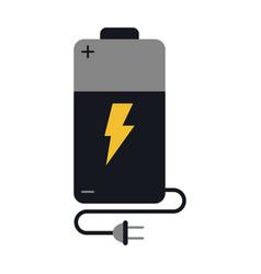 Battery cartoon fla vector
