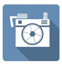 Hipster photo or camera vector