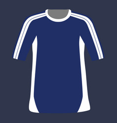 isolated sport shirt vector image