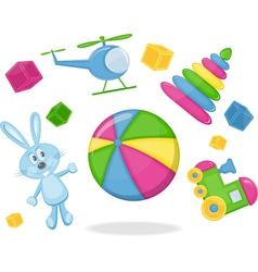 Kid toys vector