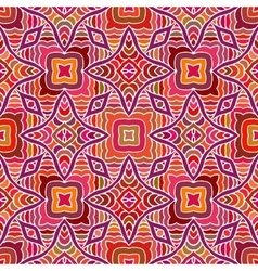 Vintage tribal ethnic backdrop seamless texture vector