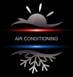 Air conditioning vector