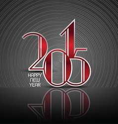 Art deco styled new year background vector