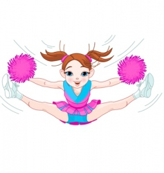 Cheerleading vector