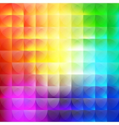 Multicolor abstract background of semicircles vector