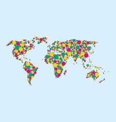 World Bubbles vector image