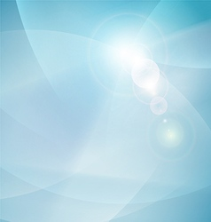 Abstract flow smooth curve and clean background vector image