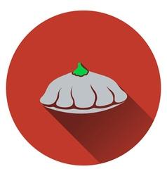 Bush pumpkin icon vector image