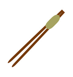 chinese sticks asian vector image