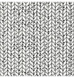 Geometric seamless abstract chevron zigzag stripes vector image