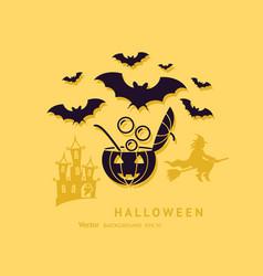 digital yellow black happy vector image