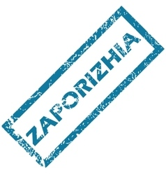 Zaporizhia rubber stamp vector