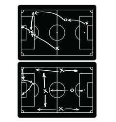 Soccer match infographic elements flat design vector