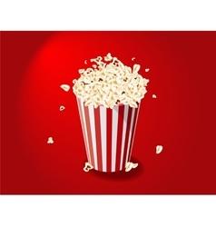 Popcorn Bucket vector image