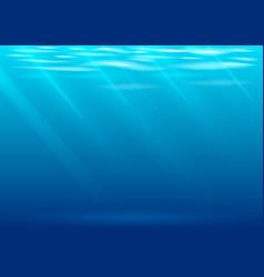 Underwater background in graphics vector