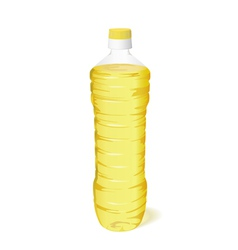 vegetable oil vector image vector image