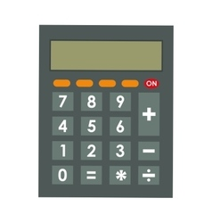 Calculator icon mathematics design vector