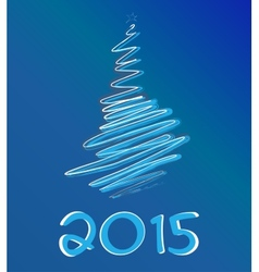 Happy new year vector image