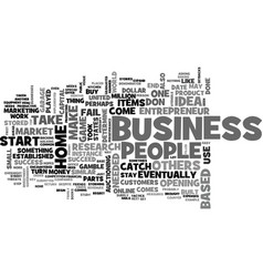 What does it take to have a home based business vector