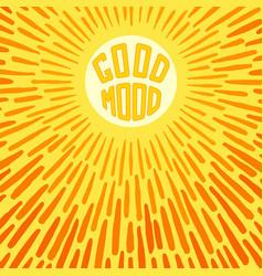 Good mood vector