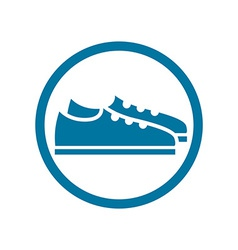 Footwear icon shoes pictogram vector