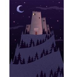 Dark Castles vector image