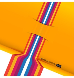 Abstract colored stripes vector