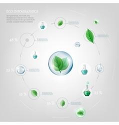 diagram Infographics Bio vector image vector image