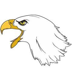 Royal eagle vector
