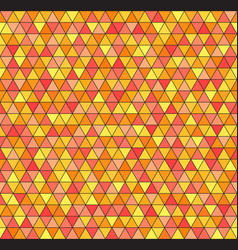Triangle pattern geometric seamless background vector