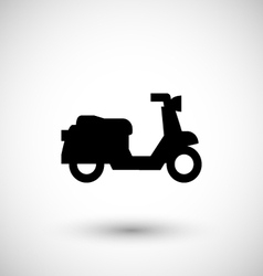 Scooter icon vector image