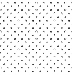 Hand drawn stars seamless pattern vector