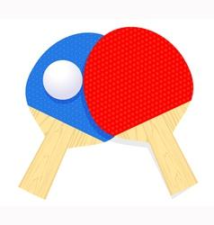 Ping pong vector image