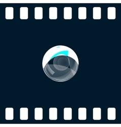 Soap bubble icon vector