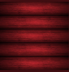 Dark red wooden planks texture vector
