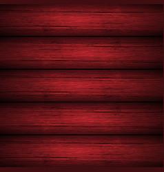 Dark red wooden planks texture vector