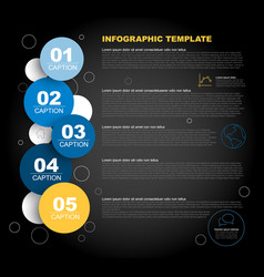 progress steps template vector image vector image