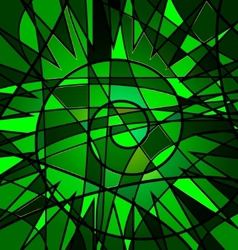 Green background variation vector